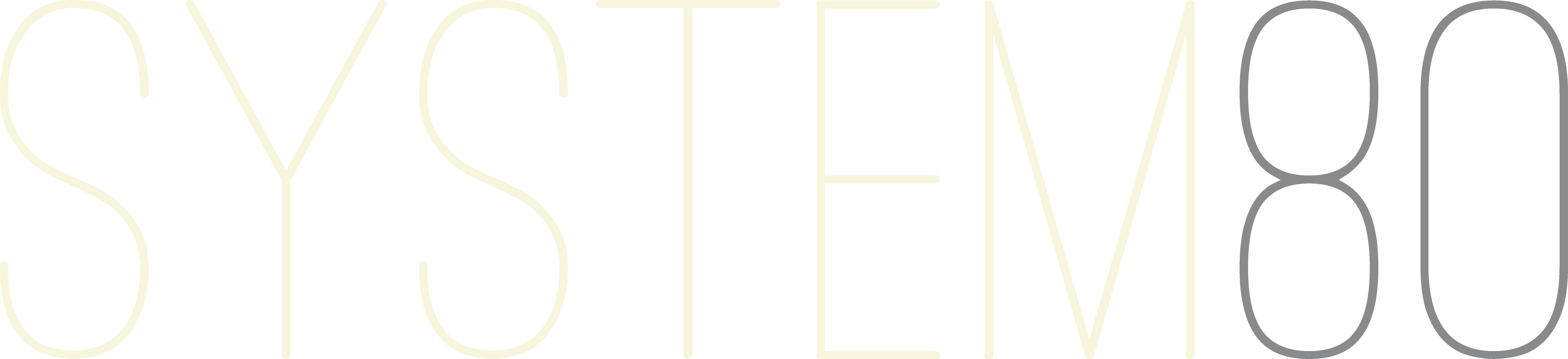 System 80 logo